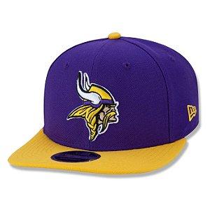 Boné New Era Minnesota Vikings 950 Classic Team NFL Aba Reta