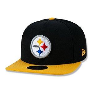Boné New Era Pittsburgh Steelers 950 Classic Team Aba Reta