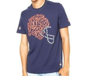 Camiseta Denver Broncos Helmetscript - New Era