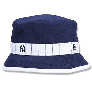 Chapéu Bucket New Era New York Yankees MLB Core Stripe