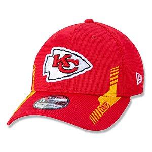 Boné New Era Kansas City Chiefs 3930 Sideline Home NFL21