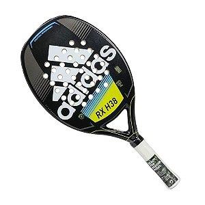 Raquete de Beach Tennis Adidas RX H38 Amarelo Azul