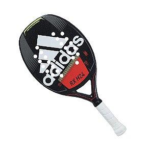 Raquete de Beach Tennis Adidas RX H24 Preto e Vermelho