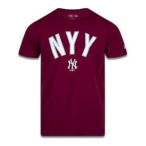 Camiseta New Era New York Yankees MLB Core World Mark