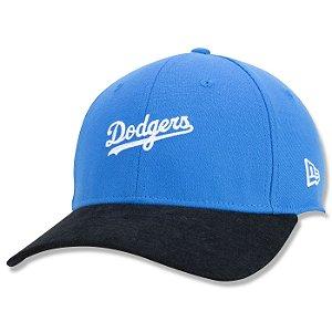 Boné New Era Los Angeles Dodgers 3930 Core Fechado Aba Curva