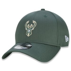 Boné New Era Milwaukee Bucks 940 NBA Sport Special Aba Curva