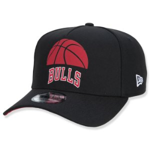 Boné New Era Chicago Bulls 940 A-Frame NBA Core Half