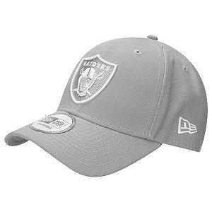 Boné Oakland Raiders 940 Snapback White on Gray - New Era