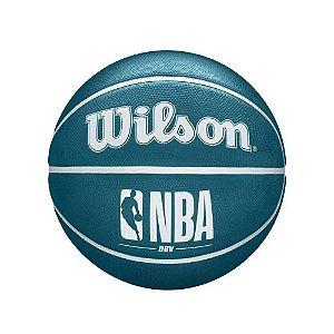 Bola de Basquete Wilson NBA DRV Mini Tamanho 3 Azul