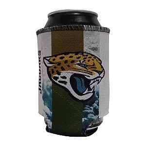 Porta Latinhas Neoprene Jacksonville Jaguars NFL Verde