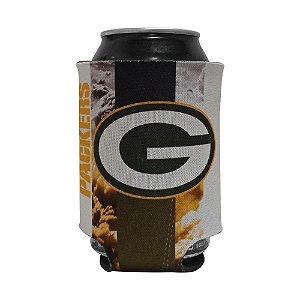 Porta Latinhas Neoprene Green Bay Packers NFL Amarelo