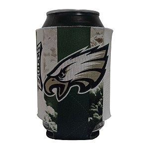 Porta Latinhas Neoprene Philadelphia Eagles NFL Verde