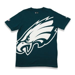 Camiseta Philadelphia Eagles Oversize Verde - New Era