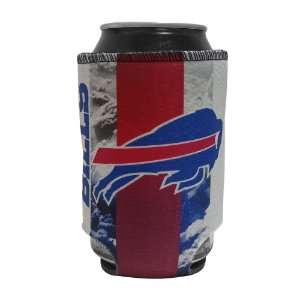 Porta Latinhas Neoprene Buffalo Bills NFL Azul
