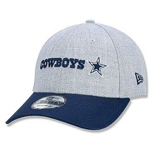 Boné New Era Dallas Cowboys 940 NFL Core Duo Color Cinza