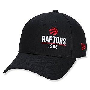Boné New Era Toronto Raptors 940 NBA Urban Tech Year Prteto