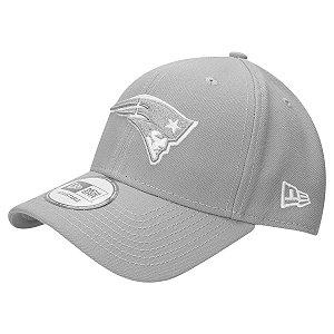 Boné New England Patriots 940 Snapback White on Gray - New Era