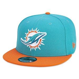 Boné New Era Miami Dolphins 950 Snapback Team Color