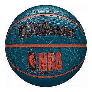 Bola de Basquete Wilson NBA DRV Plus Web Azul #7