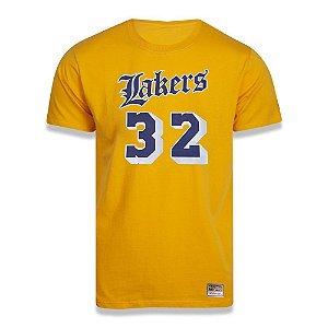 Camiseta Mitchell & Ness Los Angeles Lakers NBA Johnson 32