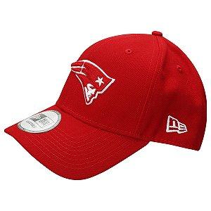 Boné New England Patriots 940 Snapback White on Red - New Era