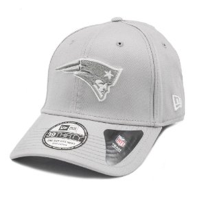 Boné New England Patriots 3930 White on Gray - New Era