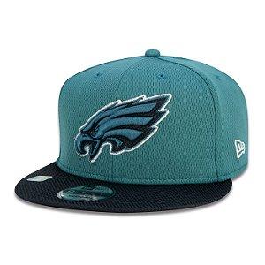 Boné New Era Philadelphia Eagles 950 NFL 21 Sideline Road