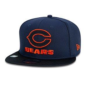 Boné New Era Chicago Bears 950 Logo NFL 21 Sideline Road