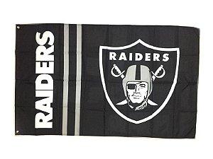 Bandeira Oakland Raiders NFL - Grande