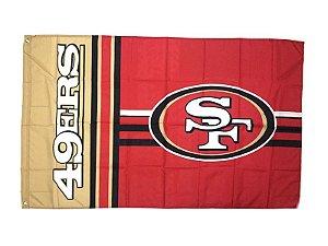 Bandeira San Francisco 49ers NFL - Grande