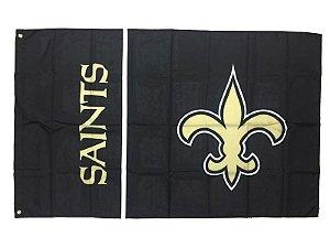 Bandeira New Orleans Saints NFL - Grande