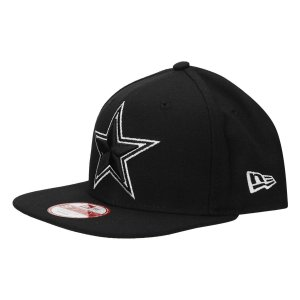 Boné Dallas Cowboys 950 White on Black - New Era