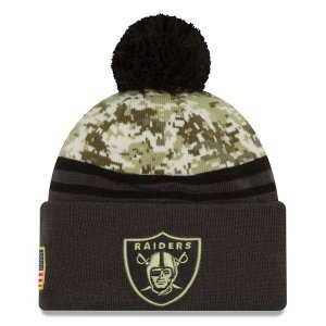 Gorro Oakland Raiders Salute To Service STS Militar - New Era