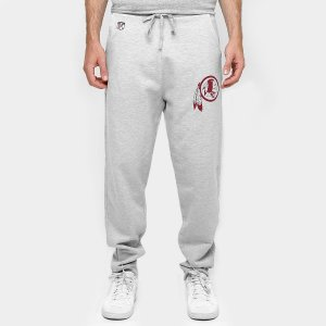Calça Washington Redskins Moletom NFL Cinza - New Era