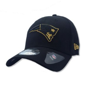 Boné New England Patriots 3930 Gold on Black - New Era