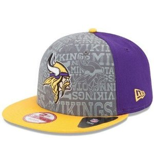 Boné Minnesota Vikings 950 Snapback Draft Reflective - New Era