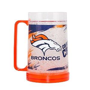 Caneca Chopp Térmica Denver Broncos - NFL