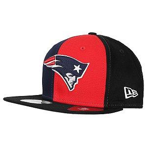 Boné New England Patriots Blocked 950 Snapback - New Era