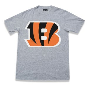 Camiseta Cincinnati Bengals NFL Basic Cinza- New Era
