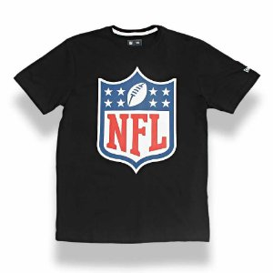 Camiseta NFL Logo Preto - New Era