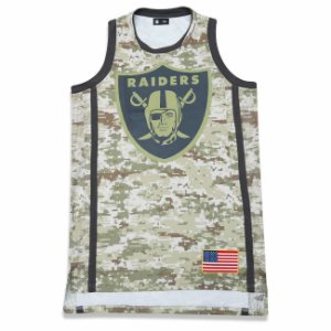 Regata Jersey Oakland Raiders Salute to Service Militar NFL - New Era