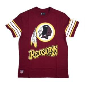 Camiseta Washington Redskins NFL Vintage Vermelha - New Era