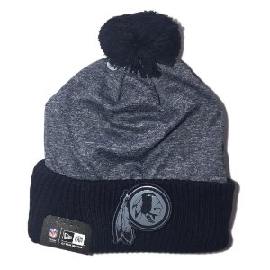 Gorro Touca Washington Redskins Gray Collection Pom - New Era