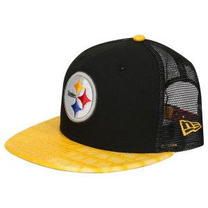 Boné Pittsburgh Steelers Crock Truck 950 Snapback - New Era