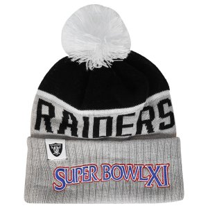 Gorro Touca Oakland Raiders Sport Knit 15 Super Bowl - New Era