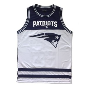 Regata Basketball New England Patriots Azul NFL - New Era
