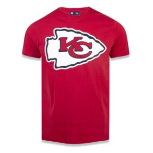 Camiseta Kansas City Chiefs NFL Basic Vermelho - New Era