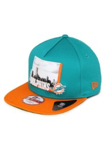 Boné Miami Dolphins City 950 Snapback - New Era