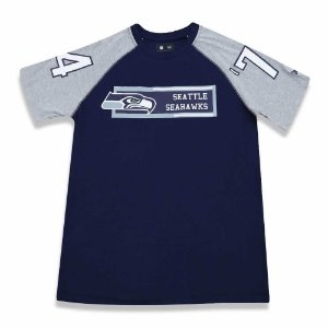 Camiseta Seattle Seahawks Raglan Rec - New Era