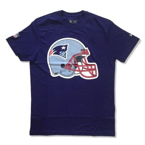 Camiseta New England Patriots Helmet Azul - New Era